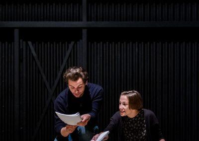 Schauspielprobe in Zittau